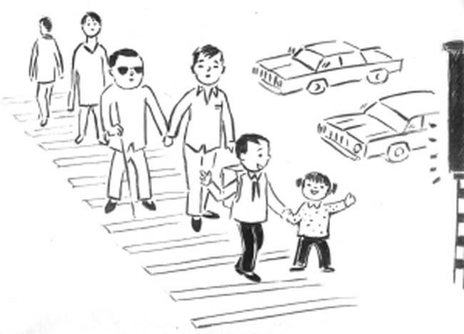 关于团结的手绘图片